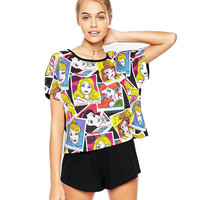 Disney Princesses Printed Tee