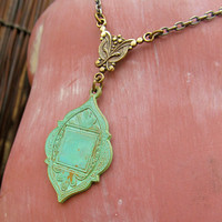 Moroccan necklace Bohemian jewelry