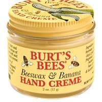 Burt's Bees Beeswax & Banana Hand Crème, 2 Ounces (Pack of 2)