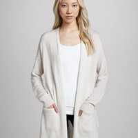 Carrie Open Cashmere Cardigan