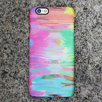 Abstract Painting iPhone SE 6s Case Pink Case Green iPhone 8 SE  Case Blue Samsung Galaxy S8 S6  Note 3 Case 036