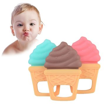 Silicone Pacify Comfort Bite Teething Toys