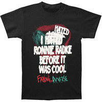 Falling In Reverse Men's  Hated/Loved/Hated T-shirt Black Rockabilia
