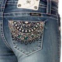Miss Me Capri Jeans with Sundial Pockets MP7124P