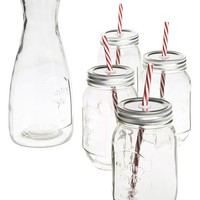 Circle Glass Country Beverage Set