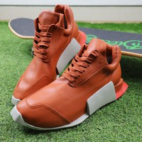 Best Online Sale Rick Owen x Adidas Level Runner Low Boost Orange S81141