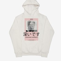 Gallery Exhibition Hoodie in Almond