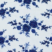 Beaded Lace Bouquets High Fashion Lace Fabric