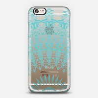 MINT LACE Crystal Clear iPhone Case iPhone 5s case by Monika Strigel | Casetify