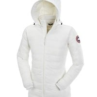 Canada goose Winter fashion to keep warm WOMEN Hooded long down jacket