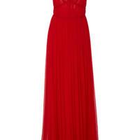 Gown With Braid Detail | Moda Operandi