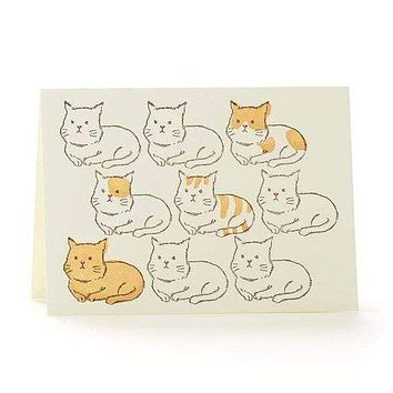 Cats Boxed Card Set