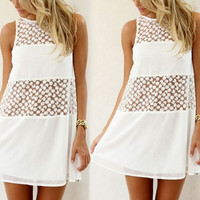 Lace Off Highway dress