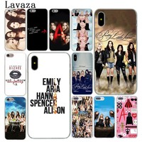 Lavaza Pretty Little Liars Lucy Hale Hard Cover Case for Apple iPhone X XS Max XR 6 6S 7 8 Plus 5 5S SE 5C 4S 10 Phone Cases