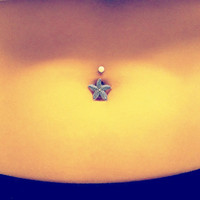 Starfish Belly Button Jewelry Belly Ring