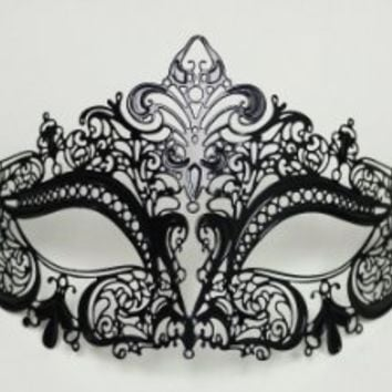 KAYSO INC Halloween Bendable Laser Cut Masquerade Mask