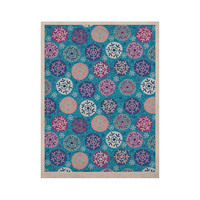 """Julia Grifol """"Floral Winter"""" KESS Naturals Canvas (Frame not Included)"""