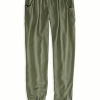 AEO Women's Effortlessly Chic Slouch Pant