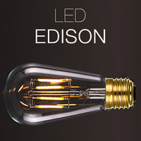 LED Edison Antique Replica Filament Bulb