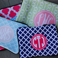 Macbook Air and Pro 13 Sleeve Monogrammed or Personalized