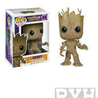 Funko Pop! Marvel: Guardians Of The Galaxy - Groot - Vinyl Bobble Head