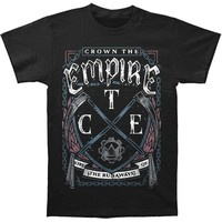 Crown The Empire Men's  Scythes T-shirt Black