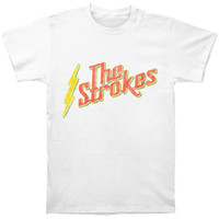 Strokes Men's  Rasta Slim Fit T-shirt Cream