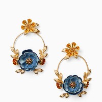 flower child door knocker earrings