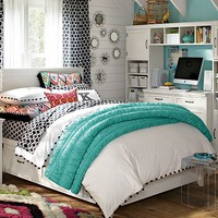Ikat Dot Hampton Bedroom