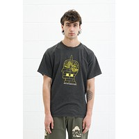 Syd Tee in Washed Black