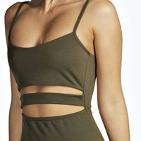 Tanya Strappy Cut Out Midi Dress
