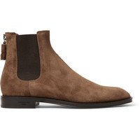 Givenchy - Suede Chelsea Boots