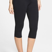 Women's Lilac Clothing 'Everyday' Crop Maternity Leggings