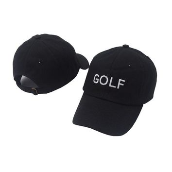 Perfect GOLF Women Men Embroidery Sports Sun Hat  Baseball Cap Hat