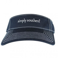 Simply Southern Classic Visor - Navy