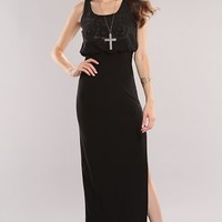 Black Beaded Design Cut Out Sexy Maxi Dress @ Amiclubwear sexy dresses,sexy dress,prom dress,summer dress,spring dress,prom gowns,teens dresses,sexy party wear,women's cocktail dresses,ball dresses,sun dresses,trendy dresses,sweater dresses,teen clothing,