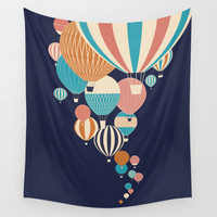 Balloons Wall Tapestry by Jay Fleck