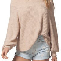 Rip Curl Suncrest Off the Shoulder Sweater | Nordstrom