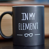"""Periodic Table """"In My Element"""" Mug and Gift Box 