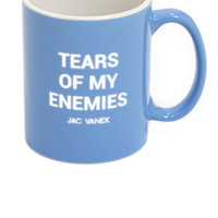 Jac Vanek - Tears Of My Enemies Mug - Blue