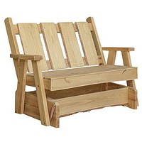 A & L Furniture Timberland Garden Bench