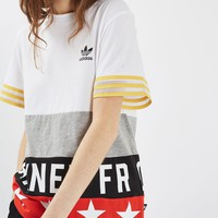 Banned From Normal Slogan T-Shirt by Adidas Originals | Topshop