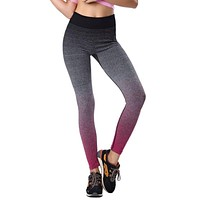 Women Fitness YOGA Sport Pants Stretch Gym Running Cropped Leggings Athletic Trousers Leggings