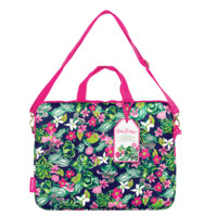 Lilly Pulitzer Laptop Tote with Shoulder Strap | Lifeguard Press