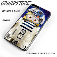 Despicable Me Minions Inside Star Wars R2d2 For Iphone 6 Plus Case UY