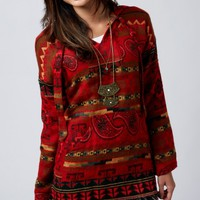Red Flannel Pullover