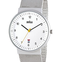Braun Watch S/S Mesh Band by Lubs and Rams