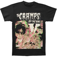 Cramps Men's  Cramps Off The Bone 3D T-shirt T-shirt Black