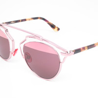 Dior So Real KM98R Light Pink Sunglasses