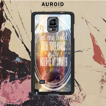 The Neighbourhood Quotes Samsung Galaxy Note 4 Case Auroid
